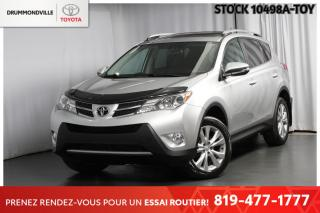 Used 2015 Toyota RAV4 LIMITED| INTÉGRALE| CUIR for sale in Drummondville, QC