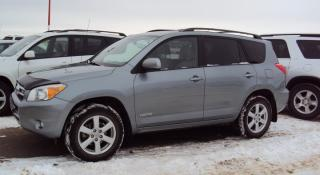 Used 2008 Toyota RAV4 LIMITED  for sale in North Battleford, SK