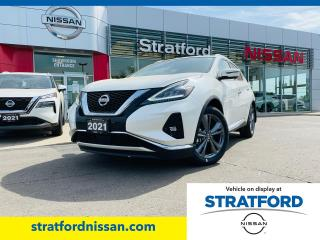New 2021 Nissan Murano Platinum AWD for sale in Stratford, ON