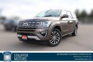 Used 2018 Ford Expedition Limited MAX for sale in Tillsonburg, ON