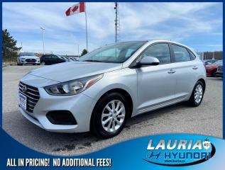 Used 2020 Hyundai Accent Preferred Auto - Apple Carplay/Android Auto for sale in Port Hope, ON