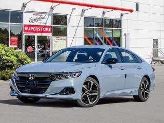 New 2021 Honda Accord Sedan SPORT 2.0 for sale in Port Moody, BC