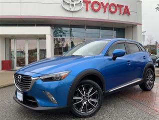 Used 2016 Mazda CX-3 GT AWD at for sale in Surrey, BC