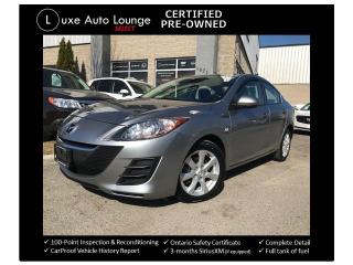 Used 2010 Mazda MAZDA3 GS - LOW KM! AUTO, BLUETOOTH, CRUISE, A/C, CLEAN! for sale in Orleans, ON