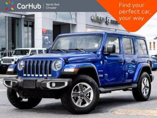 New 2021 Jeep Wrangler Unlimited Sahara|Uconnect|Cold weather|Proximity Key for sale in Thornhill, ON