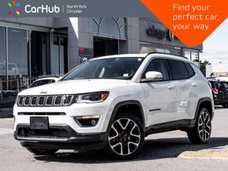 Used 2018 Jeep Compass Limited 4x4 Heated Seats & Wheel Beats Audio Panoramic Roof for sale in Thornhill, ON