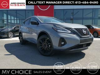 New 2021 Nissan Murano Midnight Edition for sale in Kingston, ON