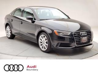 Used 2015 Audi A3 2.0T Progressiv quattro 6sp S tronic for sale in Burnaby, BC