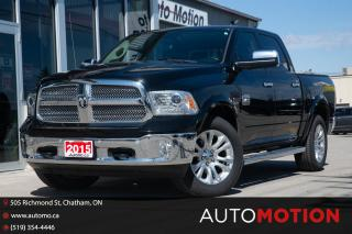 Used 2015 RAM 1500 Longhorn DIESEL LONGHORN NO ACCIDENTS for sale in Chatham, ON