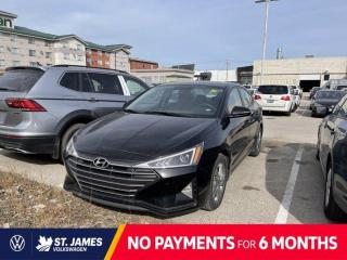 Used 2020 Hyundai Elantra Preferred, Clean Carfax, Backup Camera, Apple CarPlay for sale in Winnipeg, MB