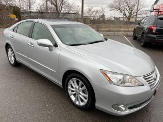 Used 2011 Lexus ES 350 ** NAV, HTD/COOLED LEATH, BACK CAM ** for sale in St Catharines, ON