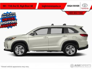 Used 2017 Toyota Highlander Limited  - Navigation -  Sunroof for sale in High River, AB