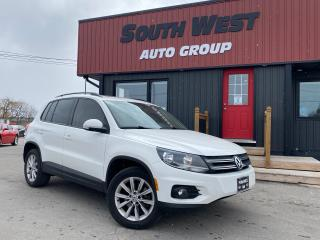 Used 2013 Volkswagen Tiguan Highline|NAV|BackUp|PanoRoof|Htd Lthr Seats|Blueto for sale in London, ON