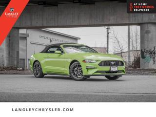 Used 2020 Ford Mustang EcoBoost Fastback  Convertible/ Leather/ Heated & Cooled Seats for sale in Surrey, BC