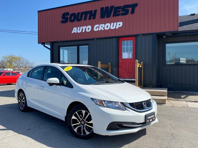 2015 Honda Civic EX|BlindSpotCam|BackupCam|Htd Seats|Sunroof|Alloys