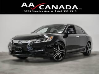 Used 2016 Honda Accord Sport for sale in North York, ON