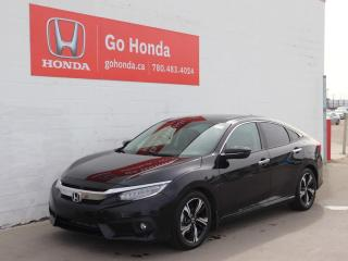 Used 2016 Honda Civic Sedan TOURING LEATHER SUNROOF NAVIGATION for sale in Edmonton, AB