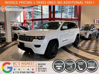New 2021 Jeep Grand Cherokee Altitude for sale in Richmond, BC