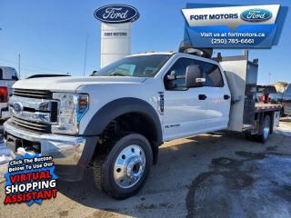 New 2019 Ford F-550 Super Duty DRW XLT   - DECK & PICKER CUSTOM TRUCK! for sale in Fort St John, BC