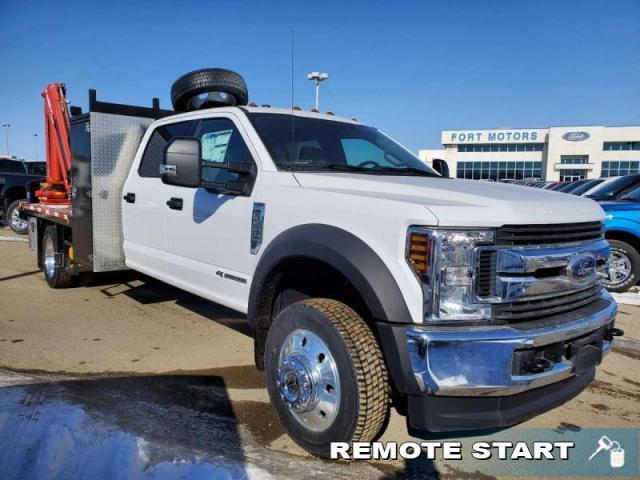 2019 Ford F-550 Super Duty DRW XLT   - DECK & PICKER CUSTOM TRUCK!