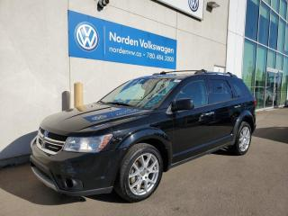 Used 2014 Dodge Journey R/T AWD - LEATHER HTD SEATS / SUNROOF / BACKUP CAM for sale in Edmonton, AB