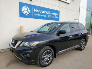 Used 2017 Nissan Pathfinder PLATINUM 4X4 - DVD'S / PANO ROOF / NAVI / EVERY OPTION for sale in Edmonton, AB