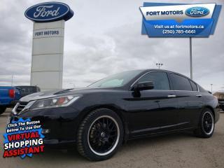 Used 2013 Honda Accord Sedan EX-L  - Leather Seats - $188 B/W for sale in Fort St John, BC