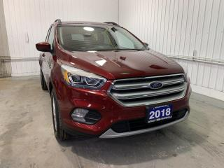 Used 2018 Ford Escape SEL W/HEATED LEATHER AND REMOTE START for sale in Huntsville, ON