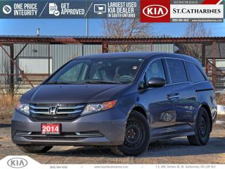 Used 2014 Honda Odyssey EX | Power Sliding Door | Power Seat | Backup Cam for sale in St Catharines, ON