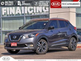 Used 2019 Nissan Kicks SR   Auto Brake   Android Auto   Leather for sale in St Catharines, ON