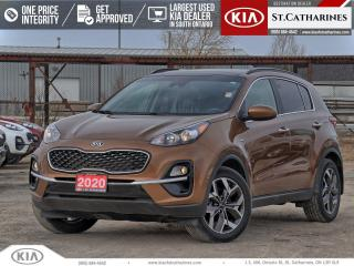 Used 2020 Kia Sportage EX AWD | Sunroof | Lane Assist | Htd Steering for sale in St Catharines, ON