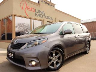 Used 2016 Toyota Sienna SE.8Pass.PowerDoors.Leather.HeatedSeats.OneOwner for sale in Kitchener, ON