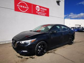New 2021 Nissan Sentra SR/AWD/BLUETOOTH/BACK UP CAM/KEYLESS ENTRY/BLIND SPOT MONITOR for sale in Edmonton, AB
