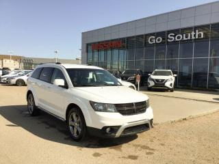 Used 2017 Dodge Journey CROSSROAD, AWD, LEATHER, 7 PASSENGER for sale in Edmonton, AB