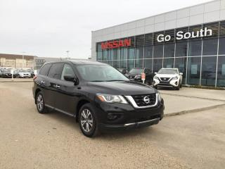 Used 2018 Nissan Pathfinder S, 4x4, 7 PASSENGER for sale in Edmonton, AB