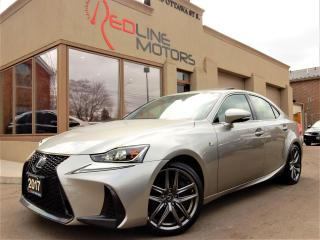 Used 2017 Lexus IS 300 F-Sport.Navi.Camera.RedLeather.LaneAssist.Radar.BS for sale in Kitchener, ON