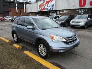 Used 2010 Honda CR-V EX-L ~ LEATHER ~ SUNROOF ~ ALLOYS ~ ACCIDENT FREE for sale in Toronto, ON