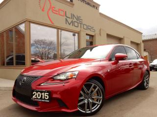 Used 2015 Lexus IS 350 F-Sport.Navi.Camera.RadarCruise.BlindSpot for sale in Kitchener, ON