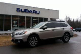 Used 2017 Subaru Outback LIMITED WITH EYESITE AND NAV for sale in Minden, ON