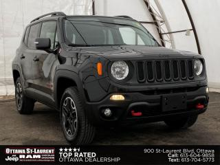 Used 2016 Jeep Renegade Trailhawk COLD WEATHER GROUP, NAVIGATION, REVERSE CAMERA for sale in Ottawa, ON