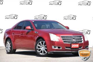 Used 2008 Cadillac CTS LEATHER | MOONROOF | 3.6L V6 | RWD for sale in Kitchener, ON