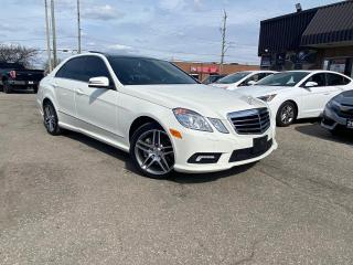 Used 2010 Mercedes-Benz E-Class AUTO E 550 4MATIC NAVIGATIN B-TOOTH SAFETY LOAD for sale in Oakville, ON