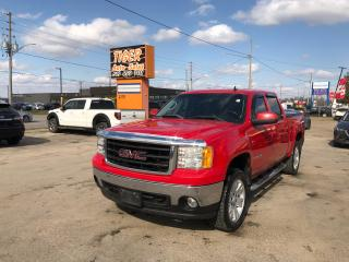 Used 2007 GMC Sierra 1500 SLT**LEATHER*CREW CAB*4X4*DVD*SUNROOF*CERTIFIED for sale in London, ON