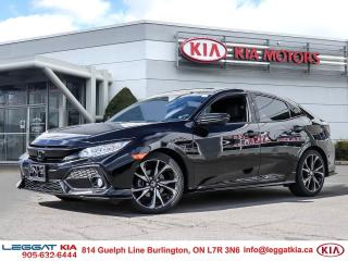 Used 2019 Honda Civic Sport Touring SPORT | TOURING | 1OWNER | BLACKEDOUT | 2SETSOFTIRES for sale in Burlington, ON
