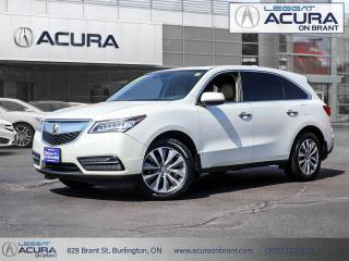 Used 2016 Acura MDX Technology Package Acura Certified, Clean Car Fax! for sale in Burlington, ON