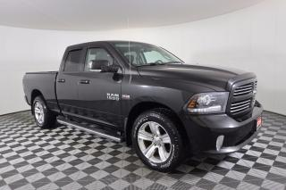 Used 2016 RAM 1500 Sport 1 OWNER - NO ACCIDENTS | LEATHER | 5.7L HEMI V8 | 4X4 | TONNEAU for sale in Huntsville, ON