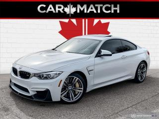 Used 2016 BMW M4 6-SPD / NAV / ROOF / NO ACCIDENTS for sale in Cambridge, ON