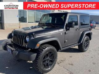 Used 2018 Jeep Wrangler JK Willys Wheeler 4x4 for sale in Chatham, ON