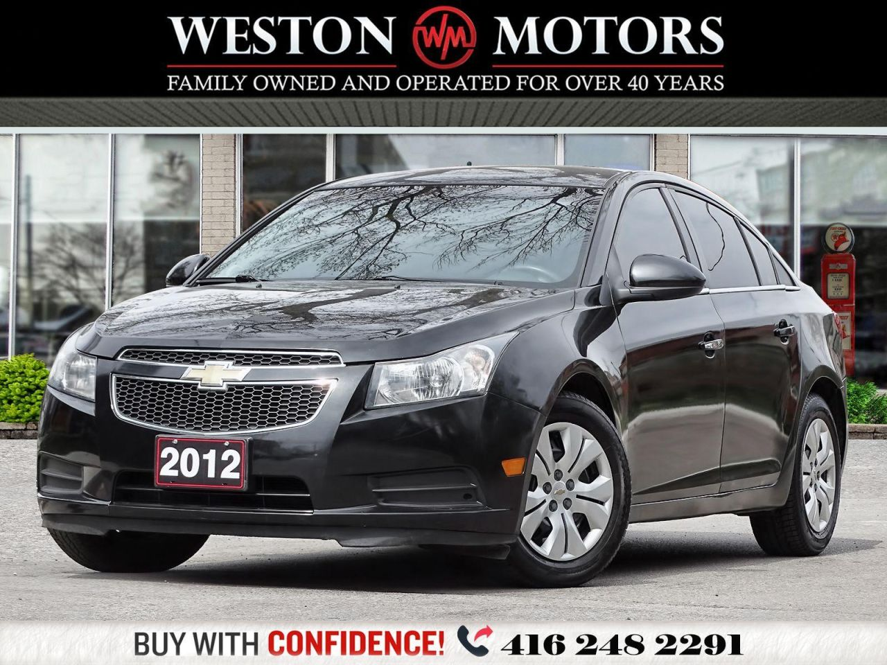2012 Chevrolet Cruze RS*LT*1.4L*LOCAL TRADE*SOLD CERTIFIED!