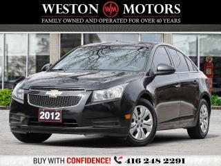 Used 2012 Chevrolet Cruze RS*LT*1.4L*LOCAL TRADE*SOLD CERTIFIED! for sale in Toronto, ON